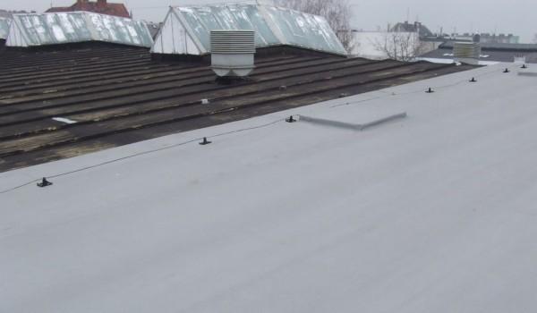Wyremontowana część dachu 2