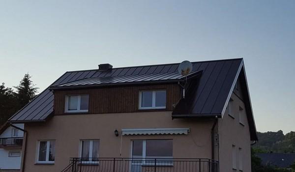 Dach domu jednorodzinnego