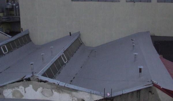 Wykończenie dachu przemysłowego 2