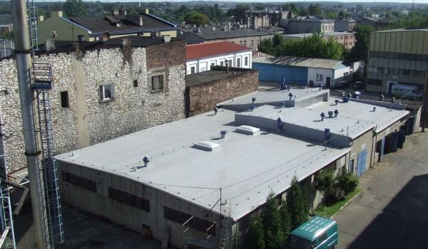 Widok wyremontowanego dachu
