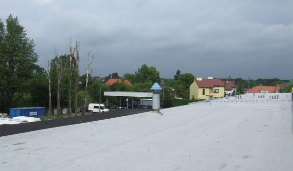 Dach z wywietrznikami