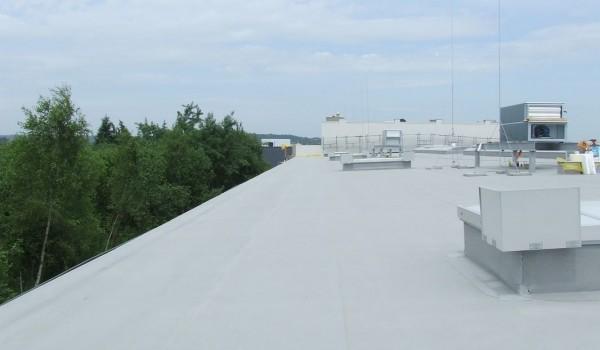 Dach z klimatyzacją