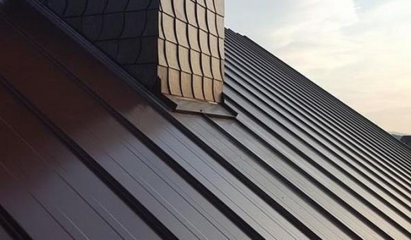 Dach ukośny i komin